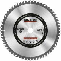 Kreator KRT020430 körfűrészlap 305x30mm, 60 fog + 3db szűkítőgyűrű