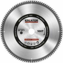 Kreator KRT020431 körfűrészlap 305x30mm, 100 fog + 3db szűkítőgyűrű
