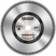 Kreator KRT020432 körfűrészlap 315x30mm, 60 fog + 3db szűkítőgyűrű