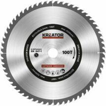 Kreator KRT020433 körfűrészlap 315x30mm, 100 fog + 3db szűkítőgyűrű