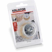 Kreator KRT150104 csapos fazékkefe 50x6mm réz