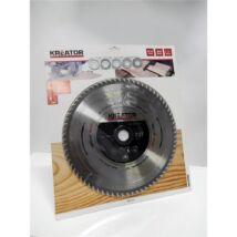 Kreator KRT023450 305mm 96t fa-fém körfűrészlap + 5 szűkítő gyűrű