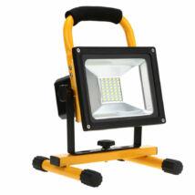 Akkus LED reflektor, kültéri-béltéri,  20W