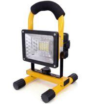 Akkus LED reflektor (munkalámpa) 30W