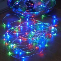 Elemes dekorációs gyöngy LED fényfüzér