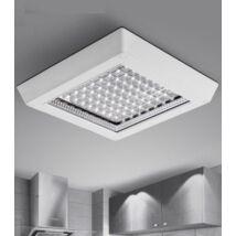 Falon kívüli szögletes LED panel 32x32cm 12W (meleg fehér)