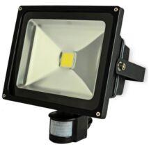 LED reflektor, mozgásérzékelős, kültéri, 10W