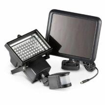Mozgásérzékelős LED Solar (napelemes) reflektor kültéri használatra 10W