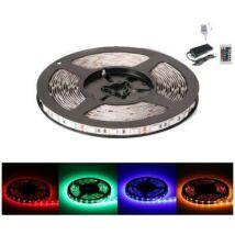 RGB színes LED szalag szett (5m)