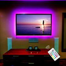USB RGB LED szalag televíziókhoz (3m)