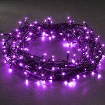 LED karácsonyi izzósor (viola) 140db LED, 8m