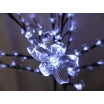 Karácsonyi LED fa 150cm (sarki fehér)