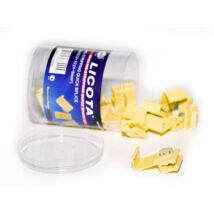 Licota Tools kábel leágaztató szigetelt gyorscsatlakozó, 4-6 mm2 vezetékhez, 17 db-os