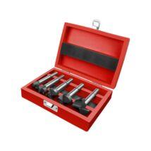 Extol pánthelymaró készlet, keményfém lapkás, átm.:15-20-25-30-35mm, befogás: 8-10mm, hossz: 85mm