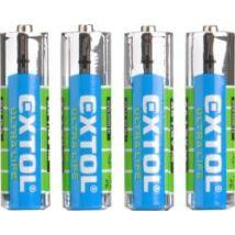 elem készlet 4 db, féltartós, 1,5 V, méret: AA (LR6), bliszteren