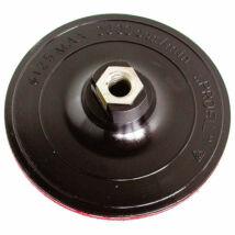 gumitányér sarokcsiszolóhoz; 125mm, tépőzáras