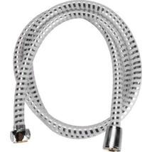 zuhanytömlő, ezüst/szürke, PVC; 1,5m