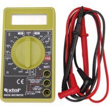 Extol digitális multiméter (Amper/Volt/Ohm mérő)