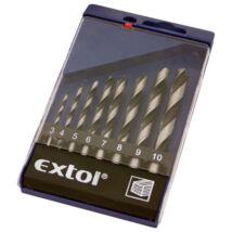Extol fafúró készlet 3-10mm (8db-os)