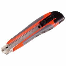 Tapétavágó kés, 18mm, fémházas, gumírozott; pótpenge: 9123A