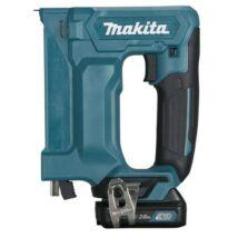 Makita ST113DSAJ 10,8V CXT Li-ion akkus kapcsozó 2x2,0Ah