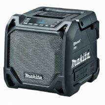 Makita DMR202 akkus hangszóró, 10W, 10.8V-18V, fekete (akku és töltő nélkül)