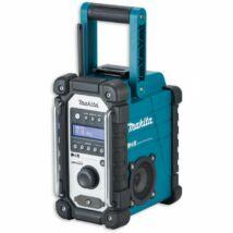 Makita DMR112 akkus DAB+ rádió, 5W, 10.8-18V (akku és töltő nélkül)