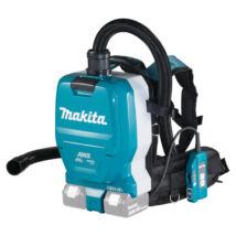Makita DVC265 akkus porszívó, háti, 11kPa, 36V (akku és töltő nélkül)