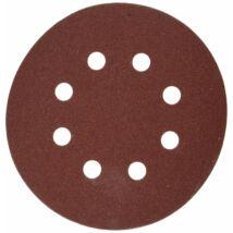 Makita excenter csiszolópapír 125mm K120 10db, barna