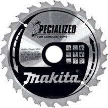 Makita Specialized körfűrészlap, akkus 160x20mm Z24
