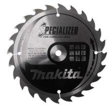 Makita Specialized körfűrészlap, akkus 165x10mm Z24