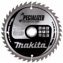 Makita Specialized körfűrészlap, akkus 165x20mm Z40