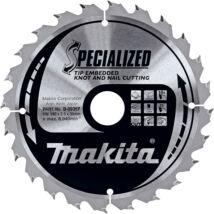 Makita Specialized körfűrészlap, merülő 190x30mm Z16