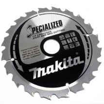 Makita Specialized körfűrészlap, merülő 185x30mm Z20