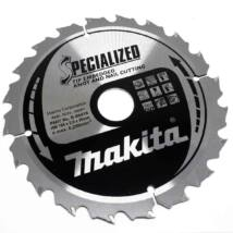Makita körfűrészlap, szög, csomósfa, Z20, 185x30mm