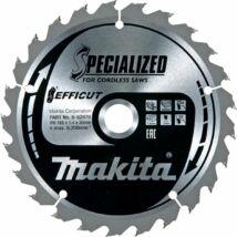 Makita Efficut körfűrészlap 165x20mm Z25