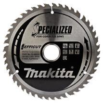 Makita Efficut körfűrészlap 165x20mm Z45