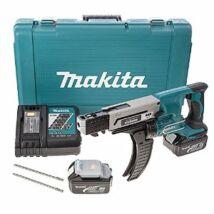 Makita DFR550RFE Akkumulátoros Táras Csavarbehajtó