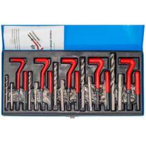 Menetjavító készlet, m5-m6-m8-m10-m12, 131darabos
