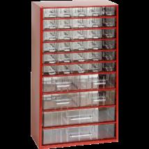Csavartartó szortimenter - horgász doboz 36 rekeszes