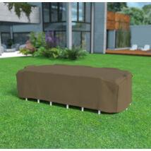 Nortene COVERTOP vízálló bútortakaró szövet asztal+székekhez, 325x205x90cm