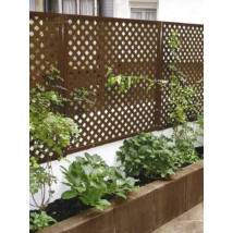 Nortene PRIVAT dekoratív kültéri panel, antracit, 1x2m