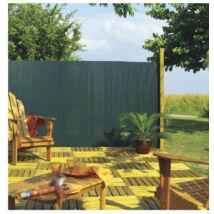 Nortene PLASTICANE félovális profilú műanyag nád 85%, zöld, 1x3m