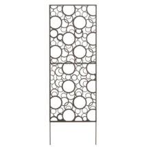 Nortene DECORATION PANEL fém elválasztó panel, barna, 0,6x1,5m