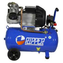 Ripper kompresszor, 2 hengeres, 50L, 2.2Kw, 390L/perc