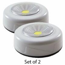 Öntapadós LED lámpa távirányítóval (2db-os)