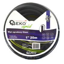 "Geko Class kerti tömlő, 1"", 20m, fekete"