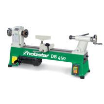 Holzstar DB 450 faipari esztergagép 254x450mm, 370W, 230V