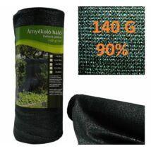 Árnyékoló háló 140 gr, 90%, Extra sűrű, 2*10 M