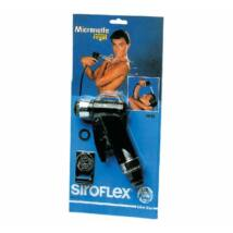 Siroflex Víztakarékos állítható sugarú zuhanyfej Fekete
